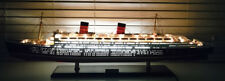 RMS Queen Elizabeth with Lights Handcrafted Ocean Liner Model 40""