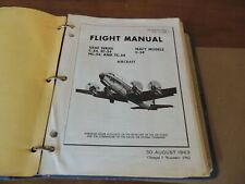 Air Force Douglas C-54 Ec54 Hc54 Air Craft Flight Manual Navair 01-40Ns Nov 1965