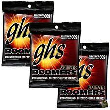 3-Pack GHS Electric Boomers GBXL Extra Light Nickel Steel Guitar Strings (9-42)