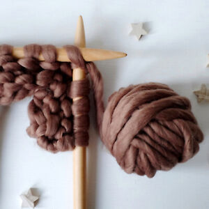 200 Grams Wiggly Yarn - Bronze   Giant Super Chunky Knit Yarn   Extreme Knitting