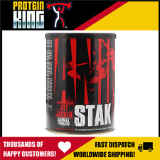 UNIVERSAL NUTRITION ANIMAL STAK 21 PACKS NATURAL TESTOSTERONE GH BOOSTER PAK M