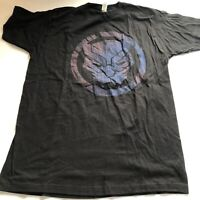 Marvel Comics The Black Panther Logo Graphic T-Shirt Tultex Sz L A268