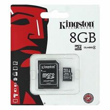 Kingston 8GB Micro SD SDHCC10 With ADAPTER  8GB TF Memroy Card Micro SD Class 10