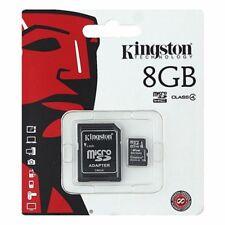 Kingston 8GB Micro SD SDHCC10 With ADAPTER  8GB TF Memroy Card Micro SD Class 10