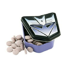 Transformers Decepticon Berry Sours Candy Embossed Figure Metal Tin NEW SEALED