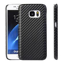Coverkingz Samsung Galaxy s7 GUSCIO EDGE CARBONIO Design Hard-Case Cover Slim ne
