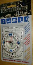 BRUNTON 9020 Clear Compass- NOS