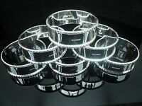 Set of 6 Silver Napkin Rings, Scottish Hallmarked, NEW Boxed