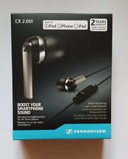 Sennheiser CX2.00i Earphones - Brand New & Sealed - compatible iPod iPhone iPad