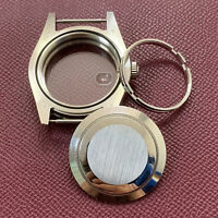 for Original 3135 Watch Movement 41MM Stainless Steel Watch Case Sapphire Glass