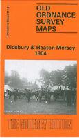 OLD ORDNANCE SURVEY MAP DIDSBURY HEATON MERSEY 1904 MANCHESTER BARLOW MOOR