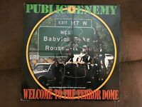 "Public Enemy - 'Welcome To The Terror Dome - 12"" Vinyl Record - 1989 - Single LP"