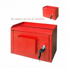Wallmount Cash Box Desktop Donation Box Mail Suggestion Collection FundrasingBox