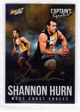 2015 Select AFL Digital Captains Signature Card CS19 # 176/200
