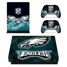 Philadelphia Eagles NFL Xbox one X Console Vinyl Skin Decals Stickers Covers