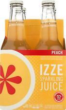 IZZE-SPARKLING JUICE         PEACH (6-4/12 FZ)
