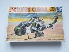 KIT DI MONTAGGIO ITALERI 1/72 No 160 BELL AH-1W SUPER COBRA NUOVO! INCELLOFANATO
