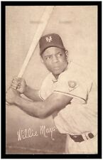 1947-66 Exhibits Baseball Card Willie Mays New York Giants