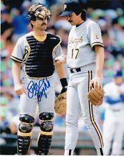 DON SLAUGHT   PITTSBURGH PIRATES   ACTION SIGNED 8x10