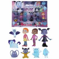 9 PCS Vampirina Cartoon Batwoman Girl Action Figures Cake Toppers Doll Toy Gifts
