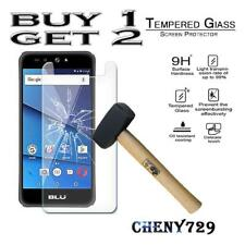 For BLU Grand X - 100% Genuine Tempered Glass Film Screen Protector Cover
