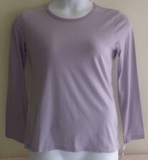 Nautica Intimates Womens S Small Petite Sleepwear Top Shirt NWT Lavender