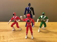 Power Rangers Mighty Morphin Lightspeed Rescue SPD Action Figure Lot of 4