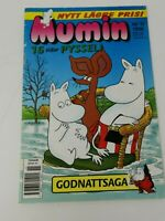 Old 1996 Mumin Foreign Language Kid's Activity Book
