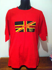 STORY OF THE YEAR Flag Logo Red T-SHIRT NEW OFFICIAL MERCH Size X-LARGE RARE