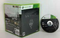 The Elder Scrolls V: Skyrim (Xbox 360, 2011) NO MANUAL