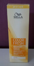 Wella Color Fresh 6/45  Dunkelblond Rot Mahaghoni Tönungsliquid 75ml  Haarfarbe