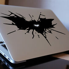 "BATMAN WINGS Apple MacBook Decal Sticker fits 11"" 12"" 13"" 15"" and 17"" models"