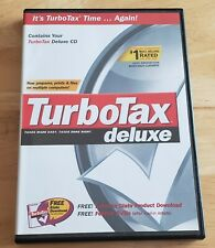 Intuit TurboTax Deluxe 2003 Federal Tax Software for Windows