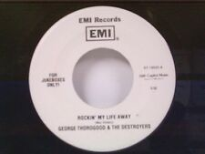 "GEORGE THOROGOOD & DESTROYERS ""ROCKIN MY LIFE AWAY / THE USUAL"" 45"