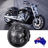 5.75'' LED Projector Headlight Hi-Lo Beam Su per Bright For Harley Davidson Dyna