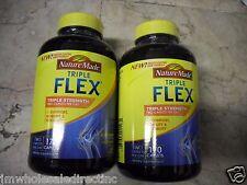2 X 170 ct Nature Made TripleFlex Triple Strengt Glucosamine + Chondroitin + MSM