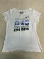 NASCAR #48 Jimmie Johnson Short Sleeve T-Shirt Women's Size XL White
