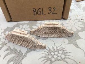 Z scale, Z gauge  stone bridge Abbutments  abutments - *single track * BGL32