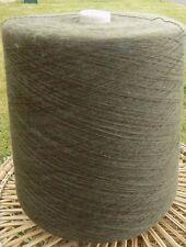 Knitting Machine Yarn 2/30 2 Kilos Wool / Acrylic Mix Green/Brown Mix IND23.03