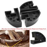 3Pcs Car Tire Tyre Changer Wheel Move Drop Center Depressor Clamp Tool Breaker