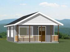 18x30 Tiny House -- 540 sq ft -- PDF Floor Plan - Model 4K