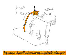 73360-53140-A0 Toyota Belt assy, rear seat 3 point type, outer rh 7336053140A0,