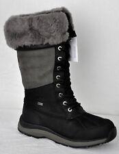 UGG Women's Adirondack Tall III Waterproof Hiking Boots 1095142 Black Sz 9