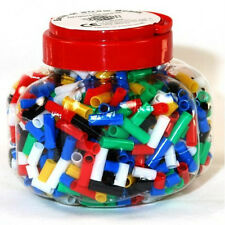 Creation Station 152 g Barrel of Straw Beads in Assorted Sizes, Pack of 1000