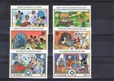 Serie Disney postfris MNH St. Vincent: Mickey Minnie Donald Goofy (dis009)
