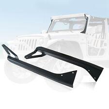 Xprite 52 Inch LED Light Bar Mounting Brackets Fits 76-96 Jeep Wrangler YJ CJ