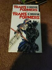 Transformers The Ultimate 5-Movie Collection DVD with slipcover