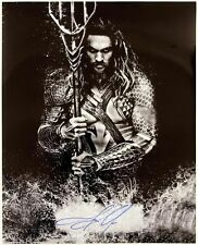 2015 Jason Momoa Aquaman Autographed 16x20 Photo (JSA)