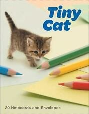 Tiny Cat Notecards by Yoneo Morita (2017, Cards,Flash Cards)