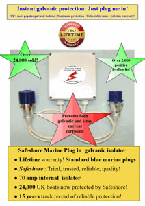 Galvanic isolator 24,000 sold! Install in 30 seconds BEST PLUG IN DEAL on Ebay!